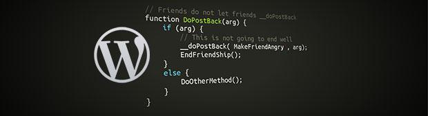 کدنویسی وردپرس